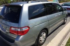 Honda Odyssey 2007 visibility