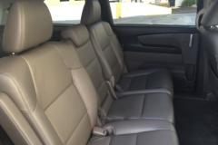 Honda Odyssay second seats