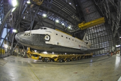 Atlantis in VAB for the Last Time