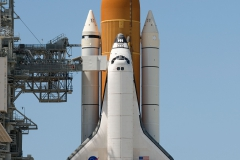 Space Shuttle Endeavour on Pad 39a